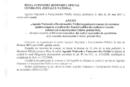 Anunț concurs recrutare arhitect șef municipiul Calafat