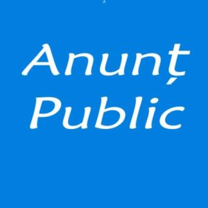 anunt public