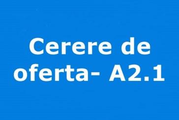 Cerere de oferta A2.1