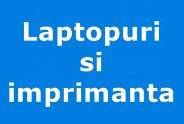 Laptopuri si imprimanta