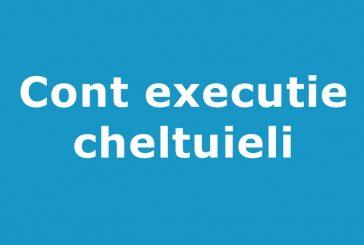 Cont de executie la 30.06.2019-cheltuieli