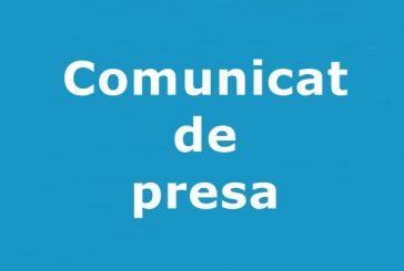 Comunicat de presa