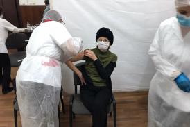 Astăzi a debutat etapa a II-a de vaccinare anti COVID-19 la Centrul de vaccinare aflat in cadrul Casei de Cultura din Calafat. ocalităţile arondate: Calafat cu satele apartinatoare, Basarabi, Golenti si Ciupercenii Vechi si comunele Maglavit, Ciupercenii Noi si Desa.