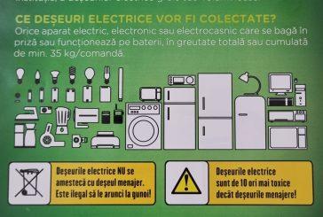 Campanie colectare electrocasnice vechi perioada 22 - 24 aprilie 2021